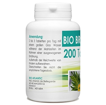 Bio Brennnessel 400mg - 200 Tabletten -