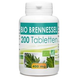 Bio Brennnessel 400mg - 200 Tabletten -