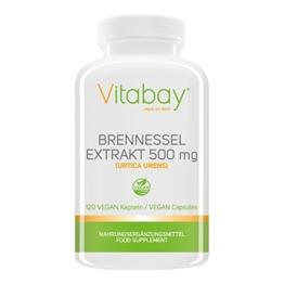 Brennessel - 500 mg - 120 Vegi Kapseln -