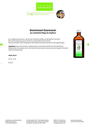 Brennnessel-Haarwasser mit Brennnessel-Extrakt 2x 150 ml -