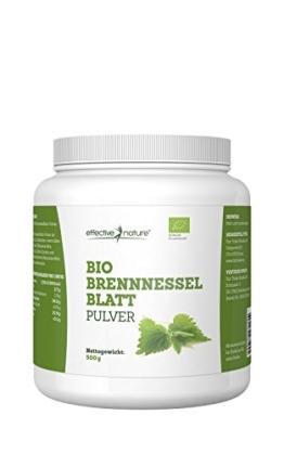 Brennnesselblattpulver Bio - 500g -