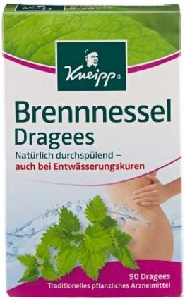 Kneipp Entwässerung Brennessel Dragees, 6er Pack (6 x 75 g) -