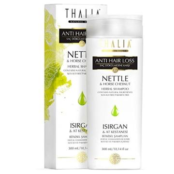 Thalia Brennnessel & Rosskastanie Shampoo für Haarverlängerung 300ml -
