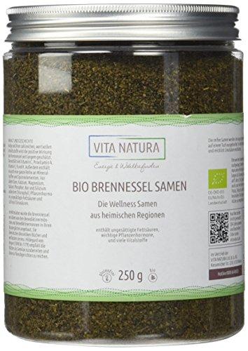 Bio Brennesselsamen ganz 250g | Premium Qualität | Handverlesen -