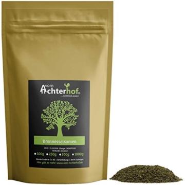Brennesselsamen ganz Brennessel Samen 250 g natürlich vom-Achterhof Kräuter -