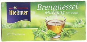 Meßmer Brennnessel 25 TB, 2er Pack (2 x 50 g Packung) -